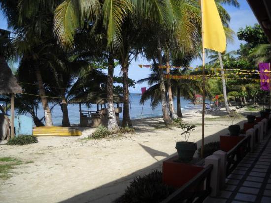 Jasmin Beach Resort: At Jasmin Beach where we were based for 6 days.