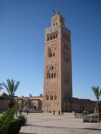 la koutoubia marrakech picture of koutoubia mosque and. Black Bedroom Furniture Sets. Home Design Ideas
