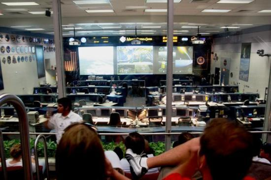 Mission Control @ NASA Space Center Houston, TX