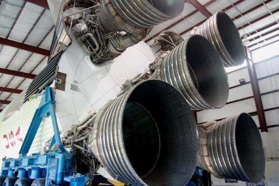 Houston, Teksas: Rocket Science! Full Exhaust System!!!