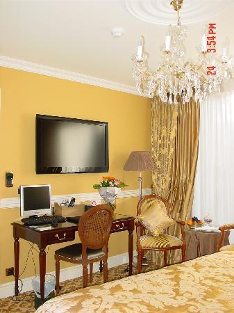 Hotel Heritage - Relais & Chateaux: intérieur de notre chambre