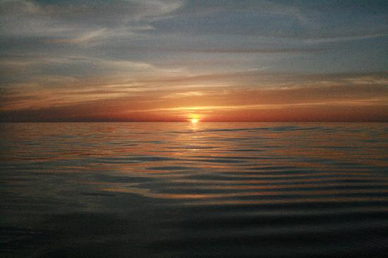 Big Pine Key Fishing Lodge : Sunset From the Campground