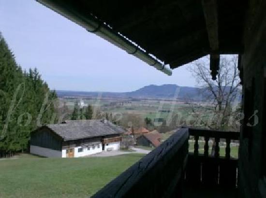 Freilchtmuseum Glentleiten: view from a balcony