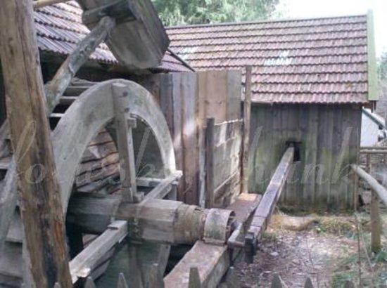 Freilchtmuseum Glentleiten: in the mill area