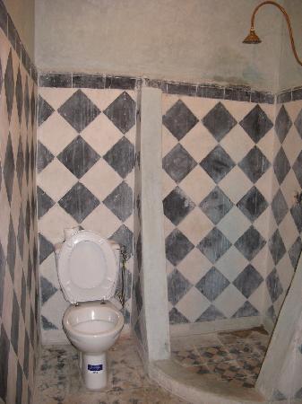 "Riad Tarik : The ""bathroom"" I had to share"