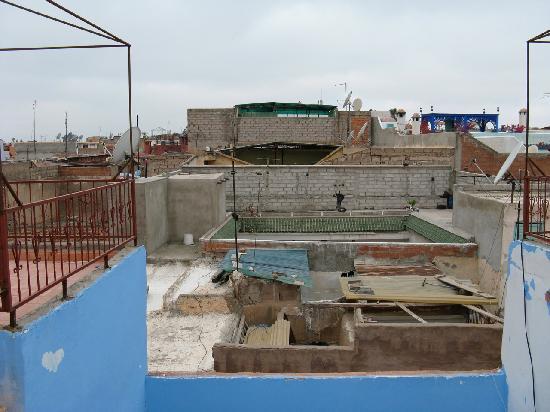 "Riad Tarik : View from the ""terrace"""