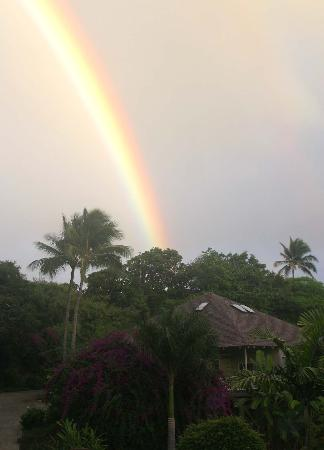 Poipu Crater Resort: Rainbow over Poipu Crater