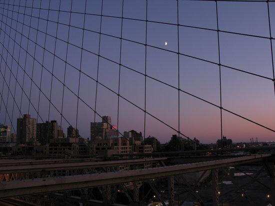État de New York : desde el puente de Brooklyn
