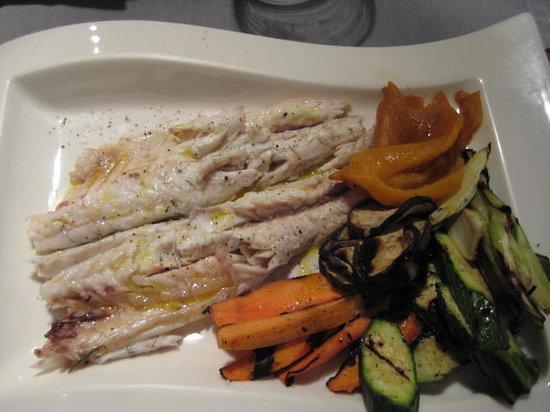 Ristorante Pizzeria Gustavino: Fish and grilled vegetables