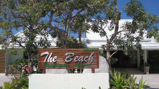 The Beach Boutique Resort: l entree de l'hotel