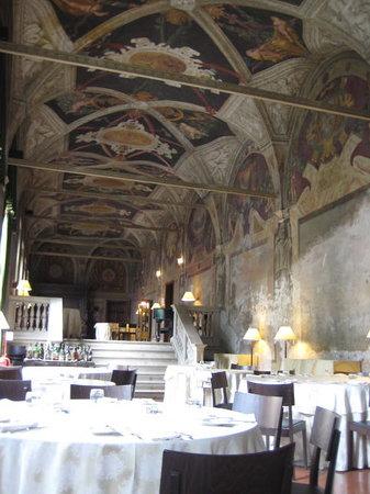 La Veranda Dell'Hotel Columbus: The dining room
