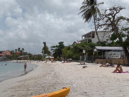 Hotel Bambou: plage de l'hotel