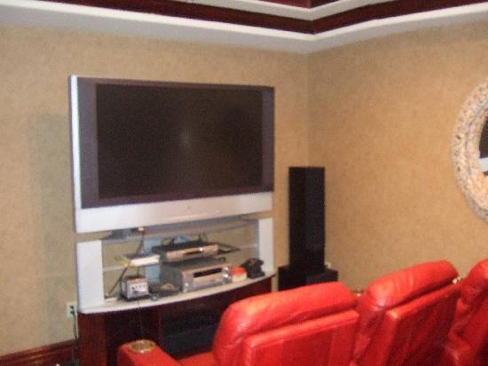 Collingwood, Canadá: Movie room in our unit