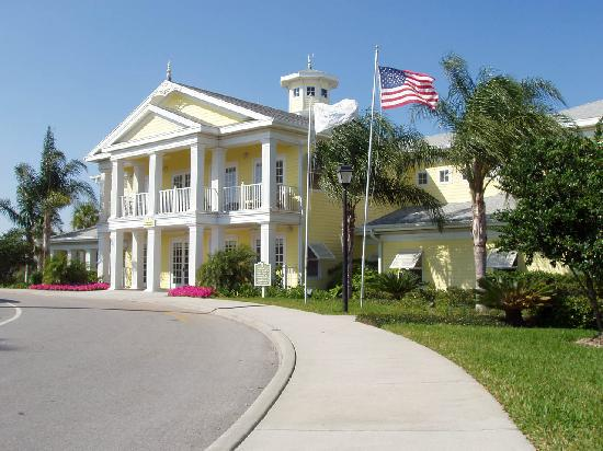 Bahama Bay Resort Orlando by Wyndham Vacation Rentals: Main Clubhouse at Bahama Bay Resort