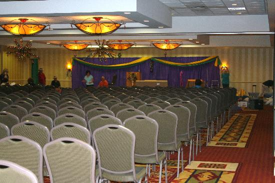 Ramada Lafayette Conference Center : Huge conference area