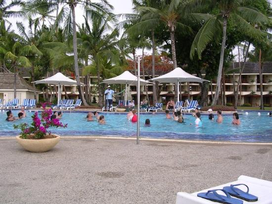 Suva, Fiji: Shangrila resort pool