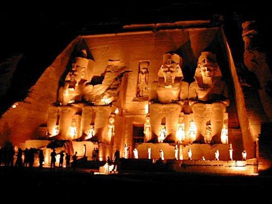 Sound and Light Show - Abu Simbel: Espectacular Abu Simbel