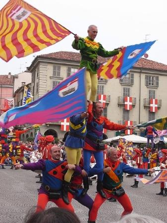 Asti, Italia: 仲疊羅漢