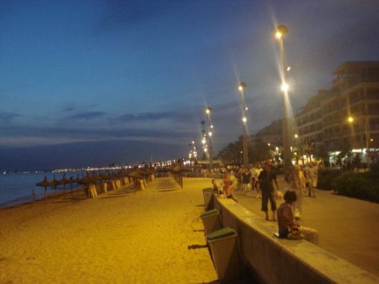 El Arenal, İspanya: Die Platja de Palma