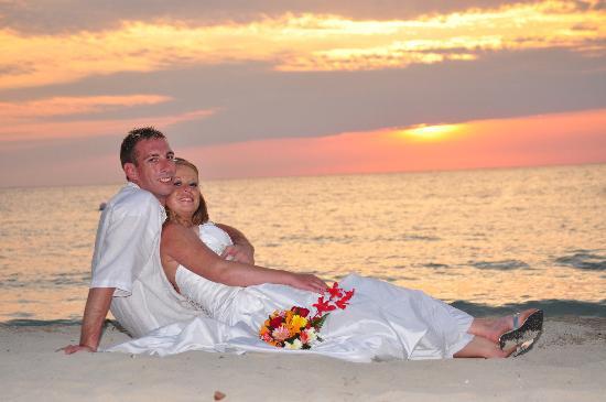 Hotel Riu Palace Tropical Bay: Beautiful sunset