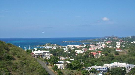 Carringtons Inn St. Croix: View of Christiansted from our Room
