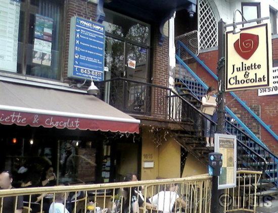 Juliette et chocolat: The place