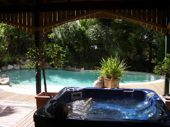 Musavale Lodge : Pool and spa