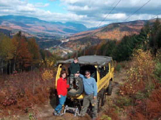 Alpine Adventures Outdoor Recreation : Foliage tours in the 6x6 Pinzgauers