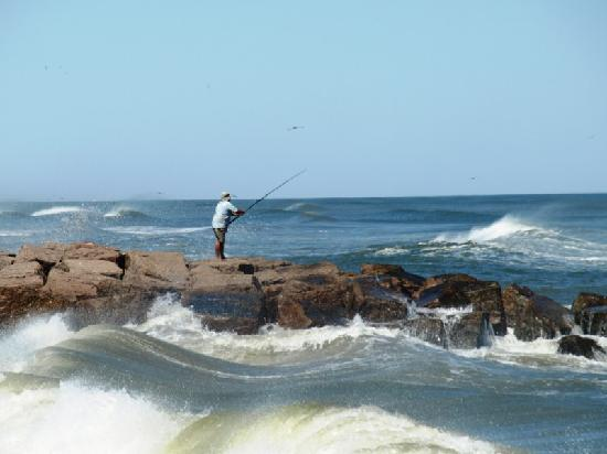 Ocean view at mustang island picture of mustang island for Ibsp fishing report
