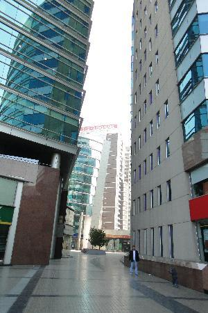 RQ Santiago: The complex buildings