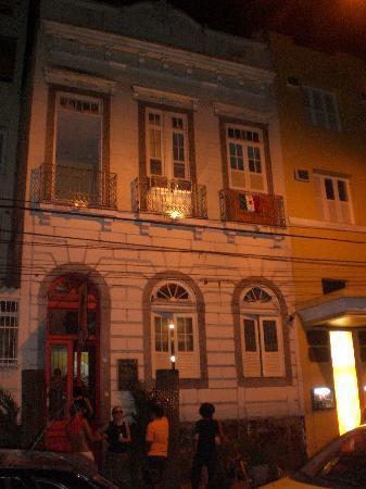 Art Hostel Rio: Siempre un buen ambiente nocturno