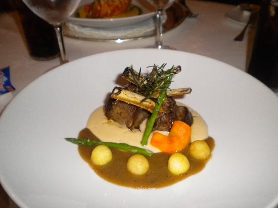 Iberostar Grand Hotel Rose Hall: lamb!