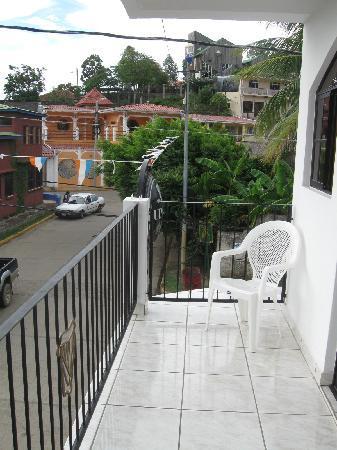 Irish House: balcon
