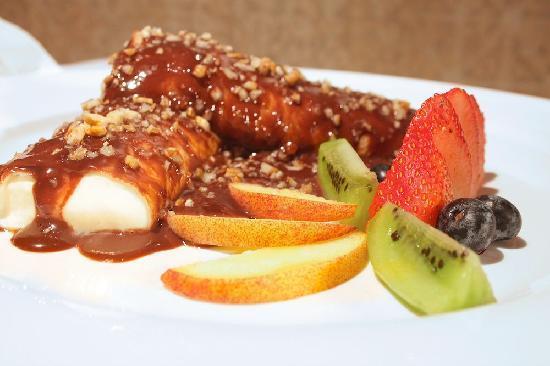 La Cruz de Huanacaxtle, المكسيك: Mas deliciosos platillos!!