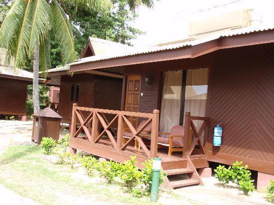 Berjaya Tioman Resort - Malaysia: The verandah of our detached chalet