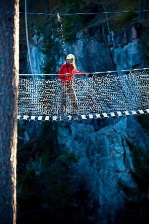 Sala Silvergruva: High Wire Adventure Track