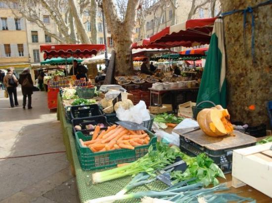 Aix-en-Provence, Prancis: Aix market