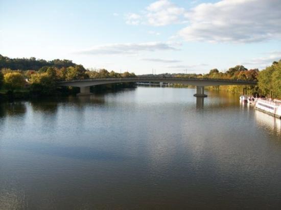 Muskingham River In Marietta Ohio Picture Of Marietta