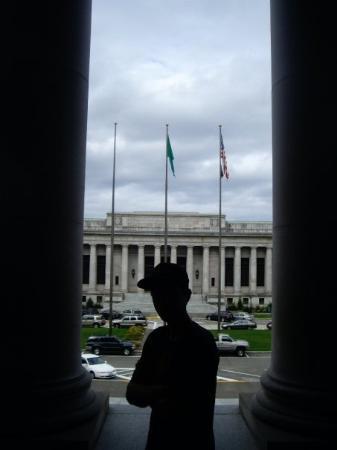 Olimpia, WA: 9-14-09 Capital Building, Olympia Kurt :)
