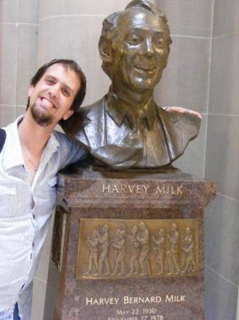 The Harvey Milk Bust In City Hall San Francisco June 26