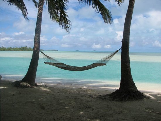 Aitutaki, Cook Islands: Relaxing spot