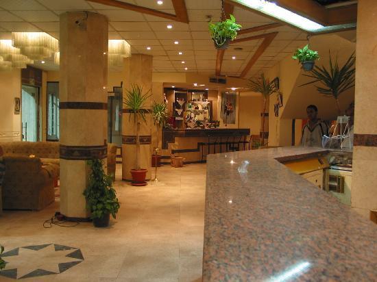 Karnak Hotel: loppy