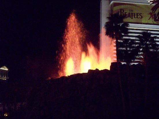 Mirage Volcano: Eruption.