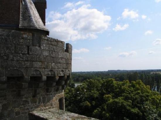 Château de Combourg : vue du donjon