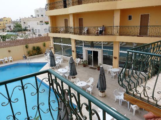 Mariam Hotel: balcon