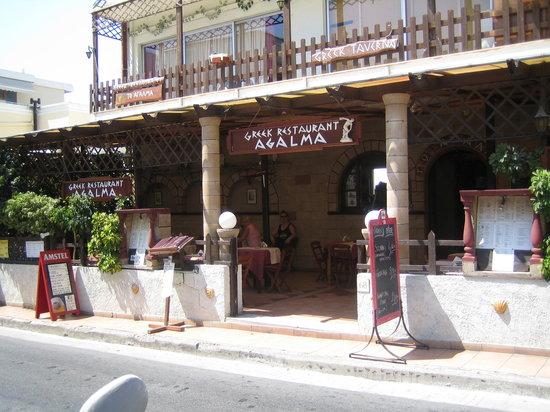 Restaurant Agalma: Agalma Restaurant, Alex.Diakou 68, Rhodos town