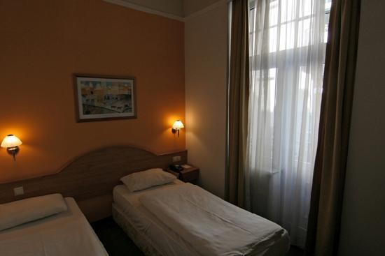 Golden Park Hotel: Twin room