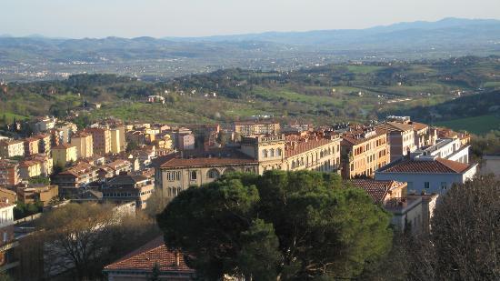 Hotel San Sebastiano: la vista da San Sebastiano