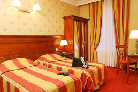 Niel Hotel: chambre 2 lits - Hôtel NIEL