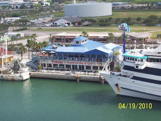 Port Canaveral, FL: From the pool deck of the Monarch of the Seas!